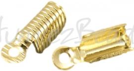 02687 Veterklem Goudkleurig 13mmx5mm 11 stuks