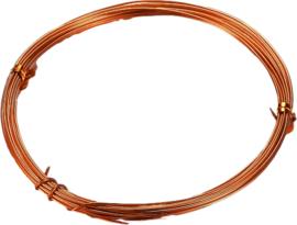 A-2008 Aluminium draad  Oranje 2mm 5 meter