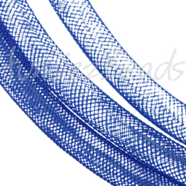 P-0406 Plastic netdraad Donker blauw 4mm 1 stuks
