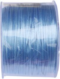 N-2109 Satijnkoord Lichtblauw 2mm 100 meter