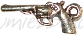00171 Bedel geweer Antiek goud