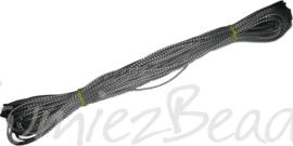 KO-1001 Koord Zilverkleurig 1mm 20 meter
