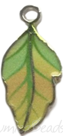 00195 Bedel blad Mixed colors (Nikkelvrij) 10mmx22mm, 1 stuks