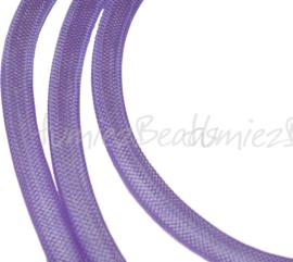 P-0803 Plastic net draad Paars 8mm 1 stuks