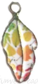 01533 Bedel blad Mixed colors (Nikkelvrij) 10mmx22mm, 1 stuks