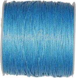 W-0005 Waxkoord Blauw ±70 meter