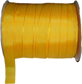 ORG-2001 Organzalint Geel 7/8inch (22,225mm) 10 meter