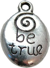 01507 Bedel be true Antiek zilver