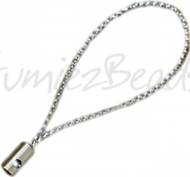 01839 Telefoonhanger Zilver 52mm