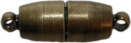 01614 Magneetslot Bronskleurig 13mmx6mm
