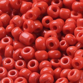 00695 Rocaille Opaque Rood 12/0 ±20 gram