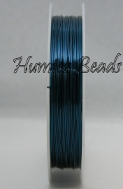C-0037 Koperdraad 6,5meter Blauw 0,6mm