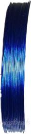 S-1018 Staaldraad Blauw 0,45mm; 100 meter