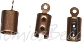 04334 Veterklem Antiek koper (Nikkelvrij)  12 stuks