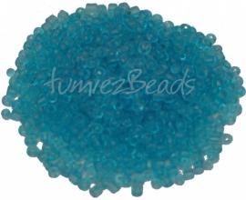 03316 Rocaille Transparant skybleu 8/0 20 gram