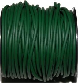 R-4003 Rubberkoord hol Groen 4mm; gat 1,5mm 1 meter