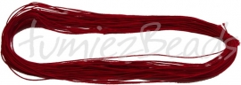 E-0045 Elastiek Rood 1mm 27 meter