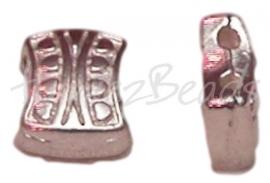 01708 Verdeler 2-gaats Zilverkleurig 7mmx8mm 12 stuks
