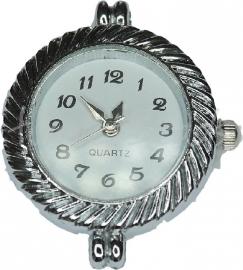 00924 Horloge Antiek zilver 1 stuks