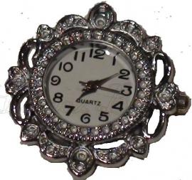 01426 Horloge Antiek zilver  1 stuks