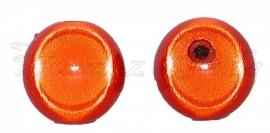 02653 Acryl kraal miracle Oranje 14mm 5 stuks
