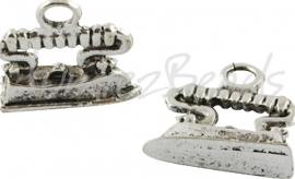 02415 Bedel strijkijzer Antiek zilver (Nikkelvrij)