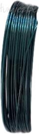 C-0073 Koperdraad 4 meter Blauw/groen 0,8mm 1 rol