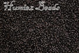 04104 Knijpkraaltjes Zwart (Nikkelvrij) 1mm 2 gram