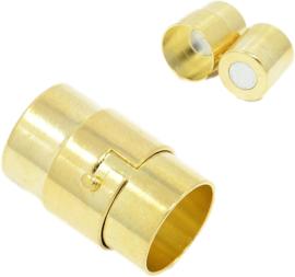 04457 Magneetslot Draai Goudkleurig (Nikkelvrij) 18mmx10mm; gat 8mm 1 stuks