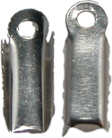 01743 Veterklem Metaalkleurig 12mmx4mm 11 stuks