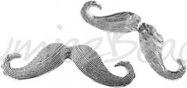 03938 Hanger snor Antiek zilver (Nikkelvrij) 59mmx15mmx3mm 1 stuks
