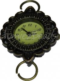 01701 Horlogekasje Antiek Brons 1 stuks