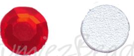 02679 Plaksteen Rood SS30 / 6,5mm 25 stuks
