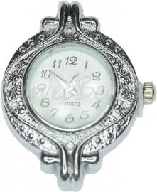 01086 Horloge Antiek zilver 1 stuks