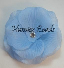 Bloem blauw 75mm