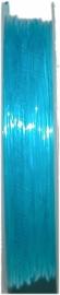 E-0830 Elastiek Licht Blauw 0,8mm 7 meter