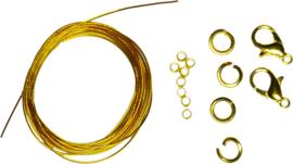 03812 Starterspakket goudkleurig