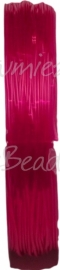 E-0837 Elastiek Fuchsia 0,8mm 10 meter
