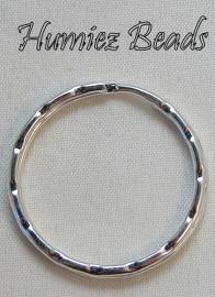 02571 Sleutelring Zilverkleurig 22mm