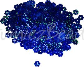 04265 Pailletten Blauw 8mmx0,3mm 1 zakje