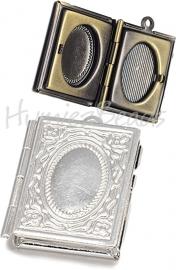 02869 Hanger fotoboek Zilverkleurig 26mmx19mmx5mm; inner 15mmx9,5mm 1 stuks