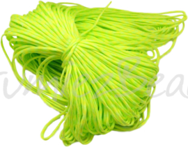 PARA-4012 Parakoord Groen-geel 4mm 6 meter