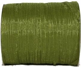 ORG-005 Organzalint Appelgroen 6mm 7 meter