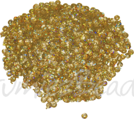 04286 Pailletten Goud 5mmx0,3mm 1 zakje