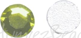 03598 Plaksteen Groen SS30 / 6,5mm 25 stuks