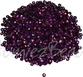 04278 Pailletten Bordeaux 5mmx0,3mm 1 zakje