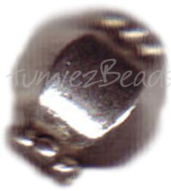 00010 Spacer lantaarn Antiek zilver 4 stuks