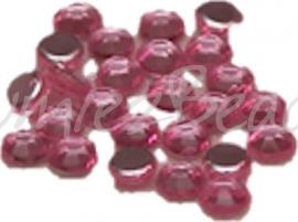 01450 (A) Plaksteen acryl Roze 3mm 25 stuks