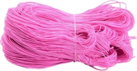 E-0051 Elastiek Roze 1mm 27 meter