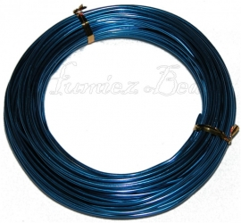 A-0005 Aluminium draad blauw 2mm 12 meter